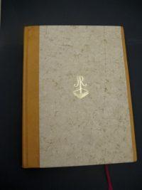 Knižní vazba - Pamětní kniha