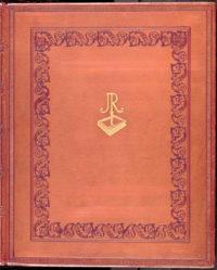 Vazba do kůže zdobená slepotiskem a zlacenou rytinou - Kniha hostů