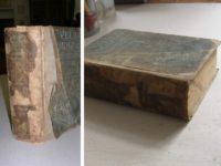 Převazba poškozené knihy