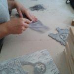 workshop linoryt - rytí