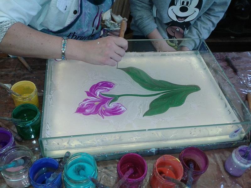 Malování na vodě