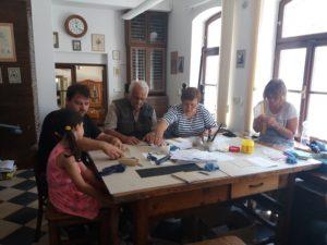 Workshop neboli tvoření - vazba zápisníčku
