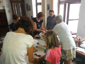 Workshop - výběr knihařských materiálů pro tvoření