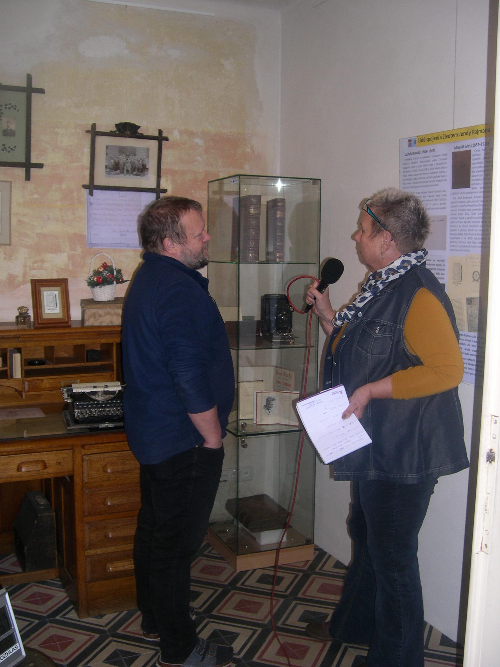 Výlety s Dvojkou - vysílání z našeho muzea
