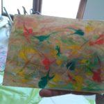 Barvený papír pro knihařské výrobky