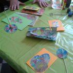 Velikonoční workshop s barvením papírů