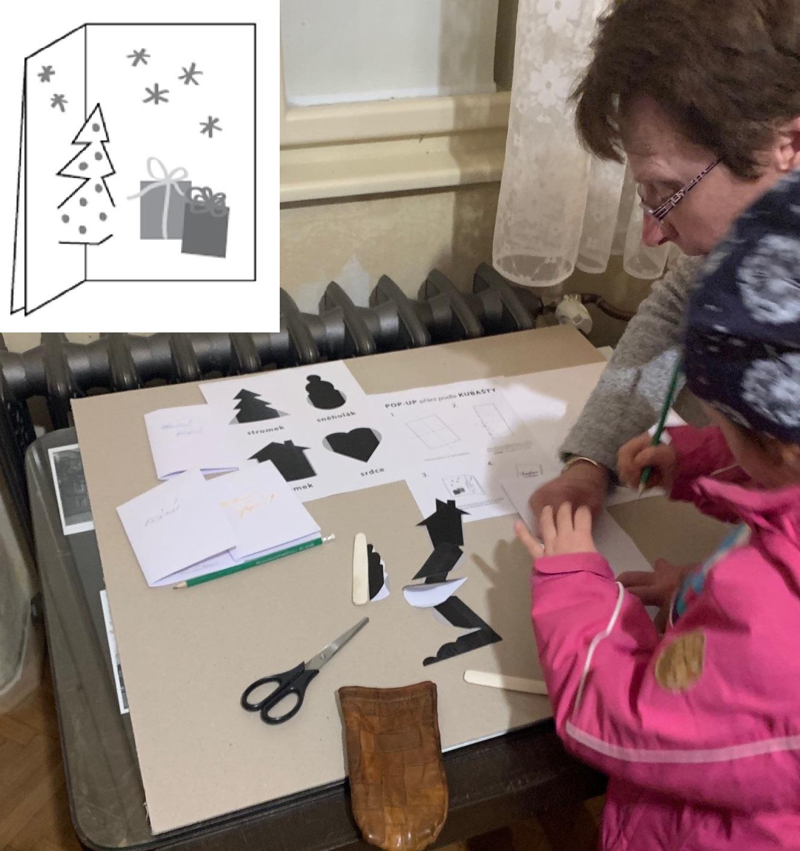 workshop Vánoční vystřihovánky