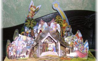 Betlém na výstavě Vojtěcha Kubašty