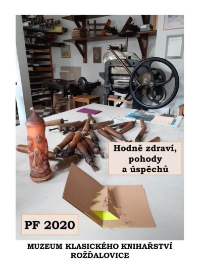 PF 2020 Muzeum klasického knihařství