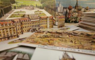 Vojtěch Kubašta - prostorové pohlednice