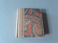 polokožený zápisník